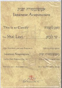 תעודה רפואה יפנית